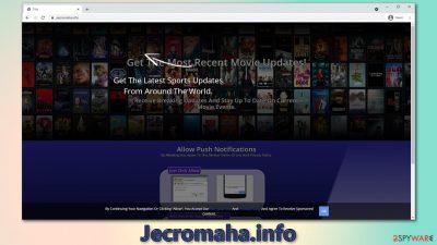 Jecromaha.info push notifications