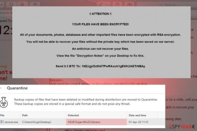 Jest ransomware lock screen