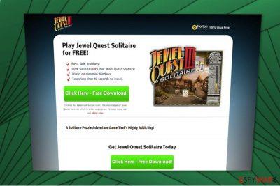 Jewel Quest adware image