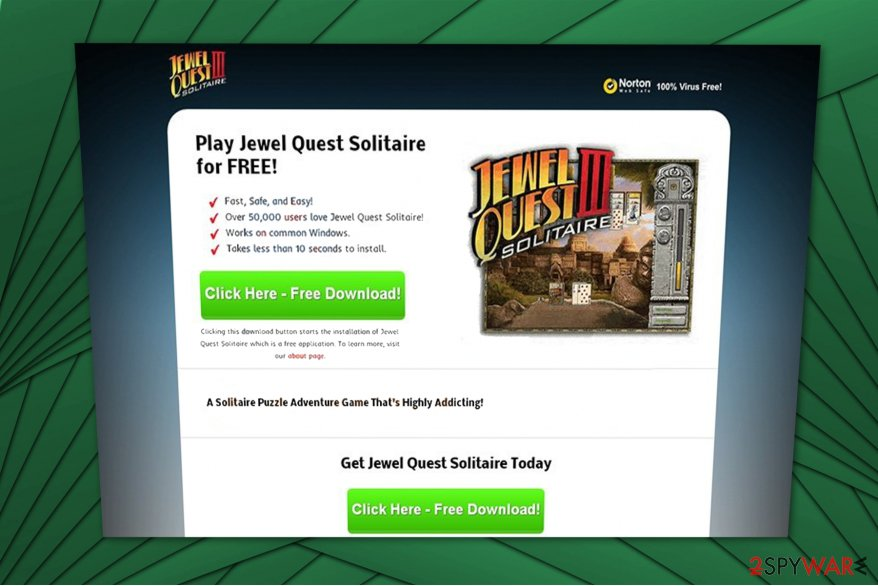 Jewel Quest adware image