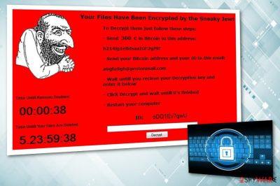 Jewsomware virus