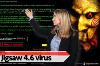Jigsaw 4.6 ransomware virus