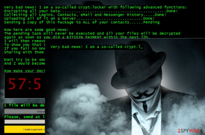Jigsaw ransomware second variant