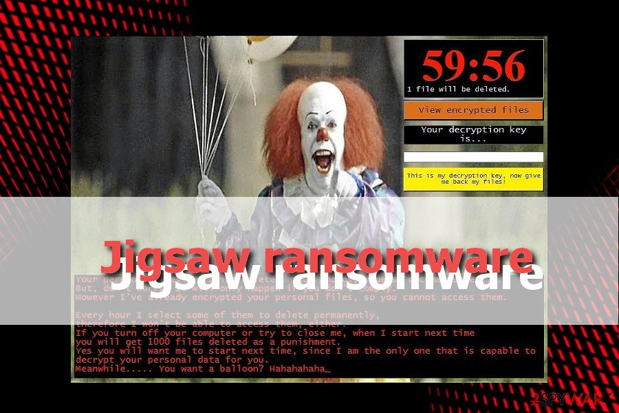 Jigsaw ransomware attacks Windows users