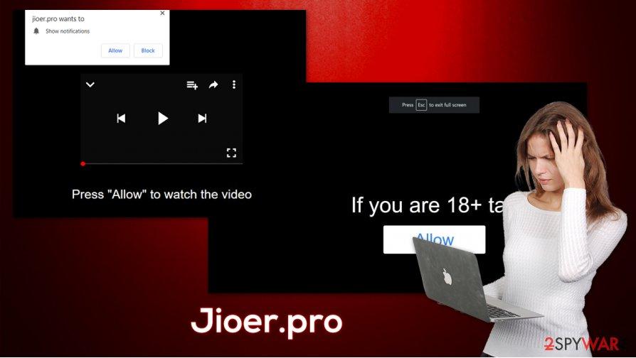 Jioer.pro push notifications