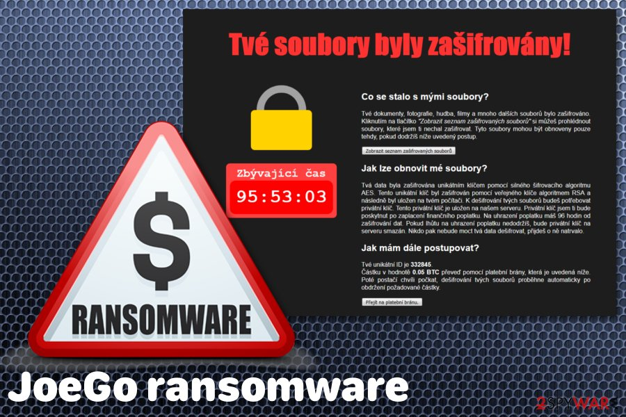 JoeGo ransomware