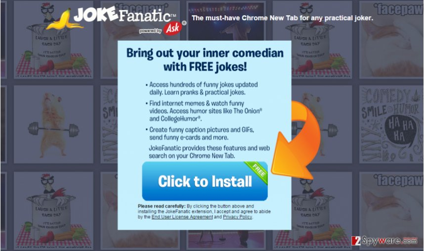 JokeFanatic Toolbar
