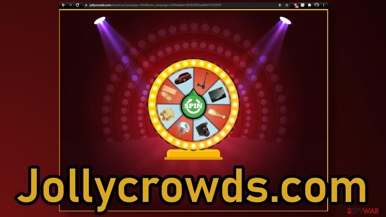Jollycrowds.com ads