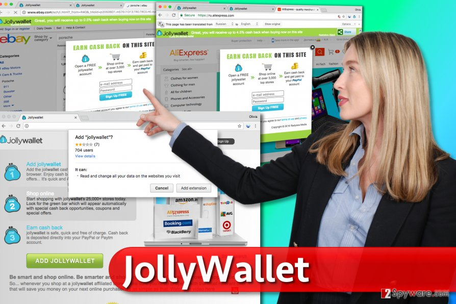 Ads by Jollywallet