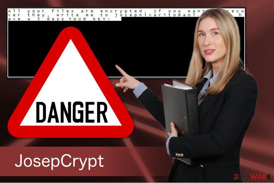 JosepCrypt ransomware virus
