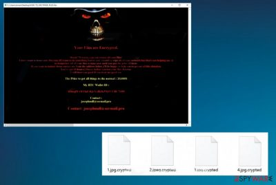 Josephnull ransomware