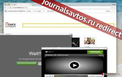 Journalsavtos.ru redirect virus is highly annoying