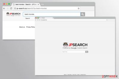 The screenshot of Jp-search.co