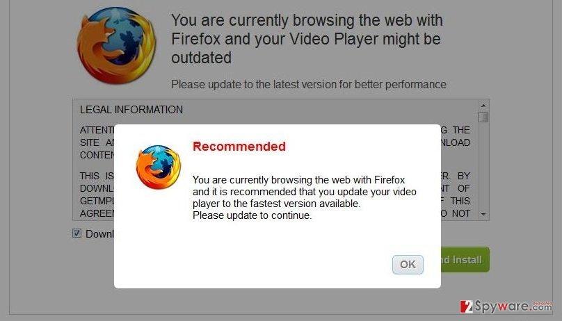 DownloadActivate.com pop-up ads snapshot