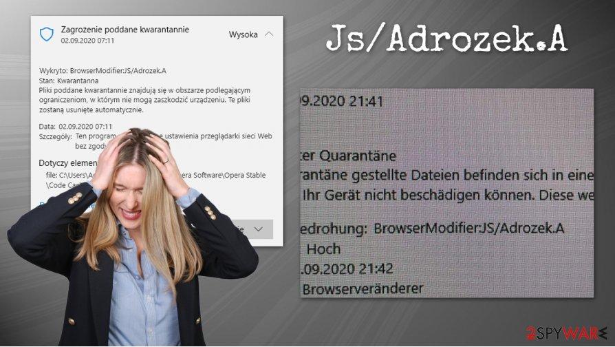 Js/Adrozek.A virus
