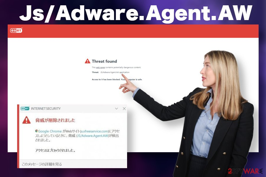 Js/Adware.Agent.AW adware