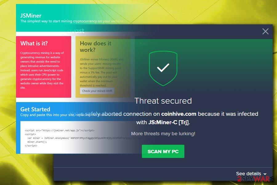 Js Miner-C malware