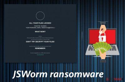 JSWorm ransomware