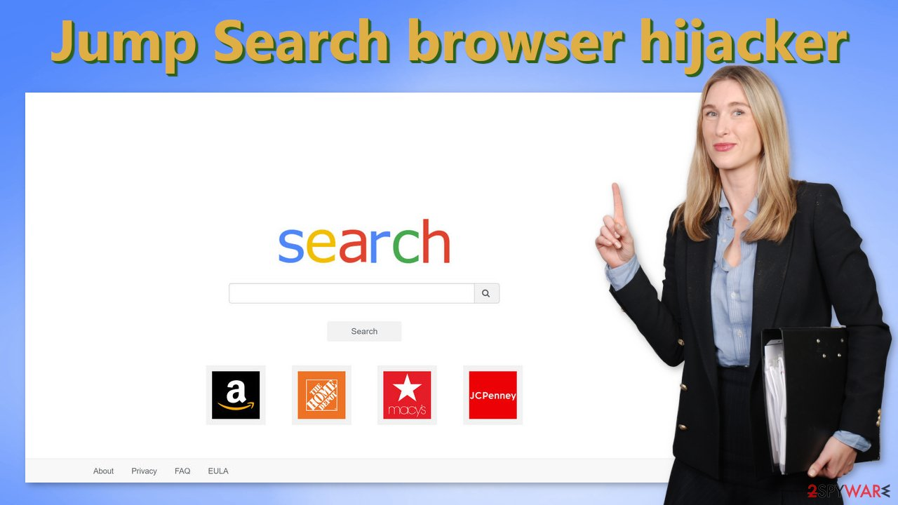 Jump Search browser hijacker