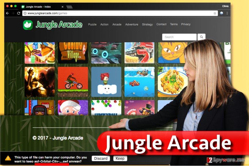 Jungle Arcade virus