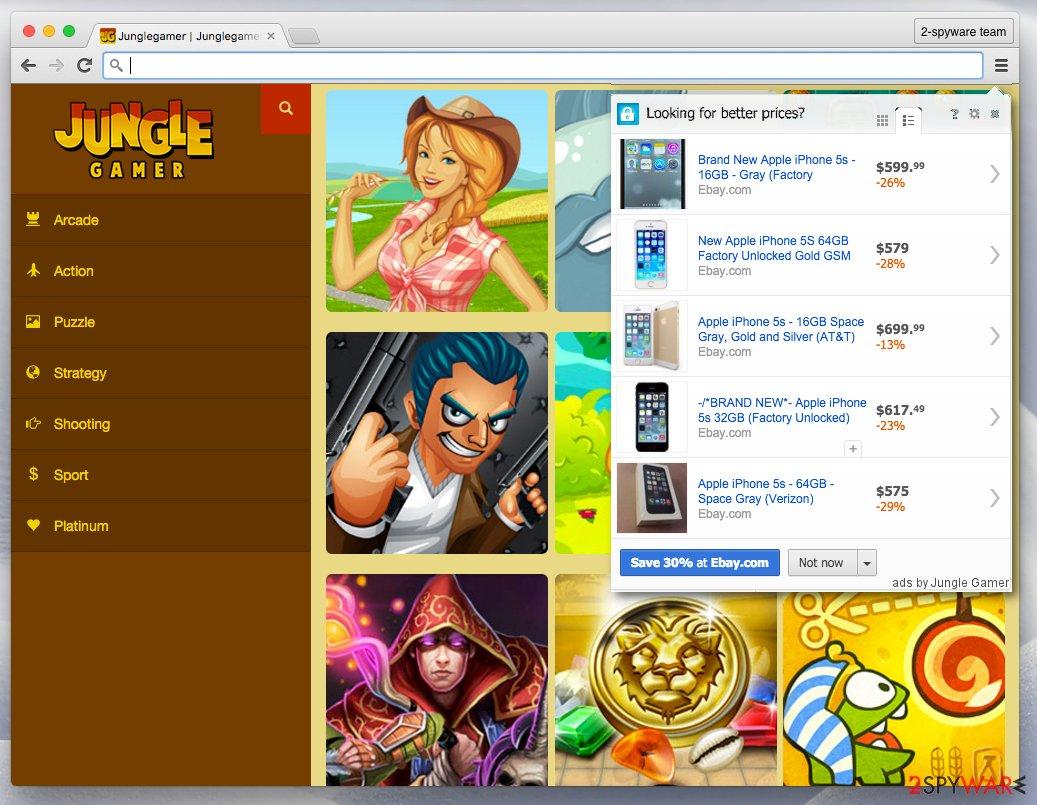 Official website of Jungle Gamer
