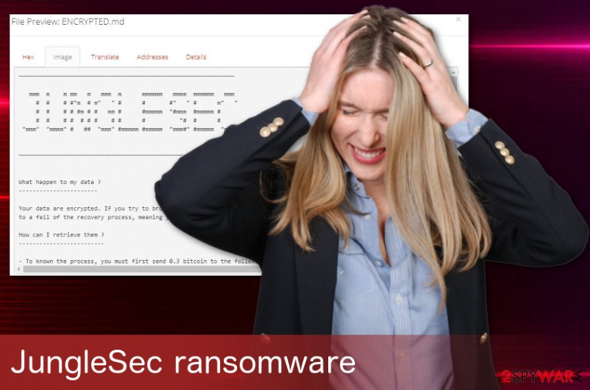 JungleSec ransomware virus