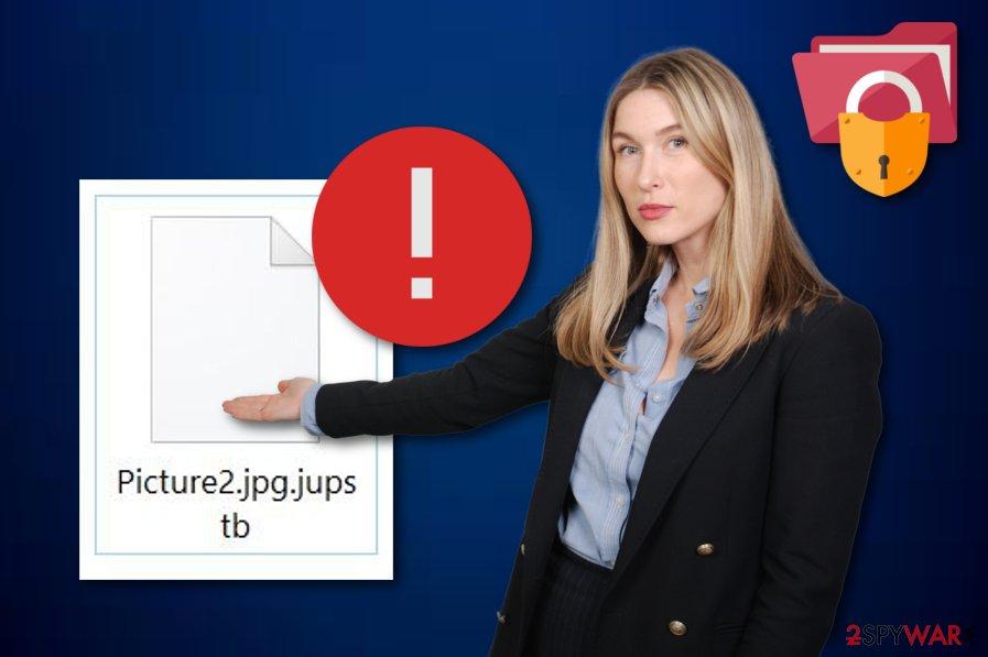Jupstb ransomware