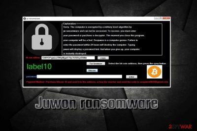 Juwon ransomware