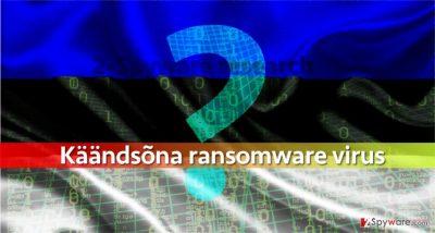 Is Kaandsona ransomware developed by an Estonian programmer?