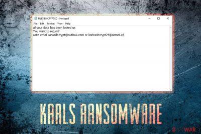 KARLS ransomware