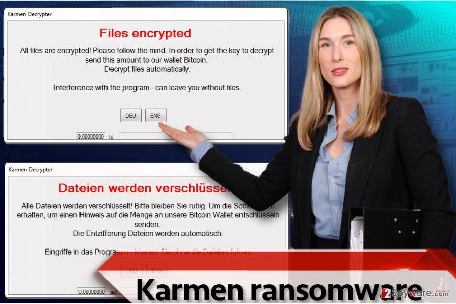Karmen ransomware virus