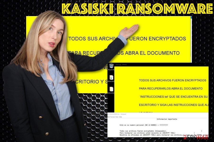 Kasiski ransomware virus