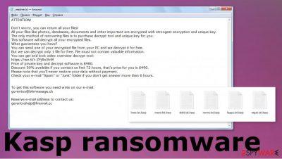 Kasp ransomware