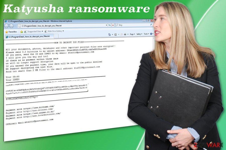 Katyusha ransomware