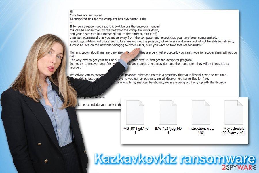 Kazkavkovkiz ransomware virus