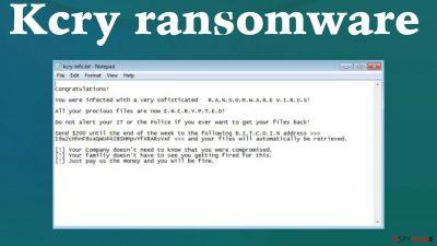 Kcry ransomware