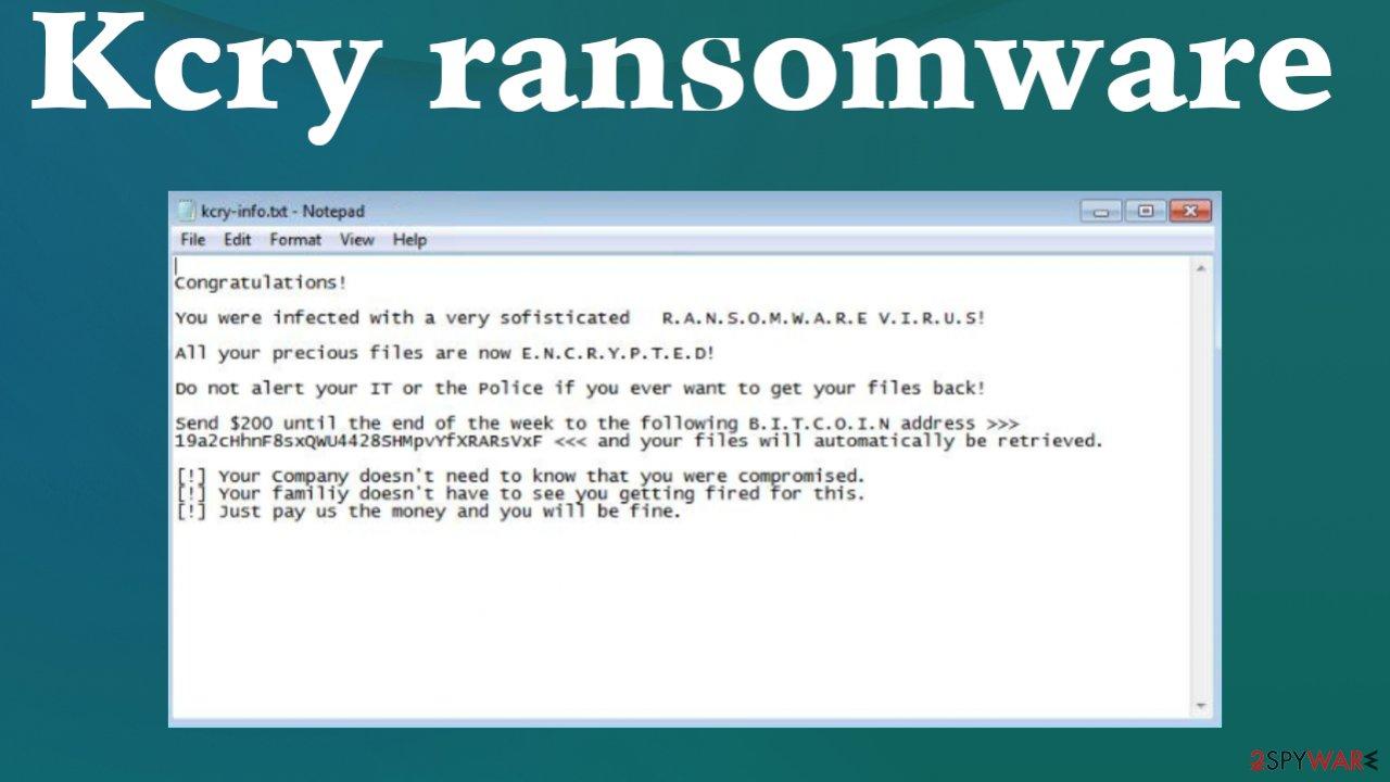 .kcry file virus
