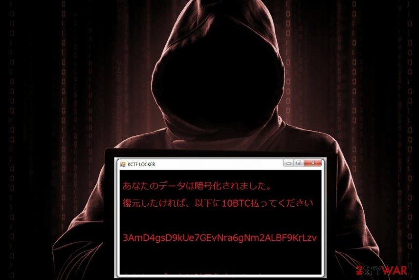 KCTF Locker ransomware virus