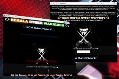 KCW ransomware virus