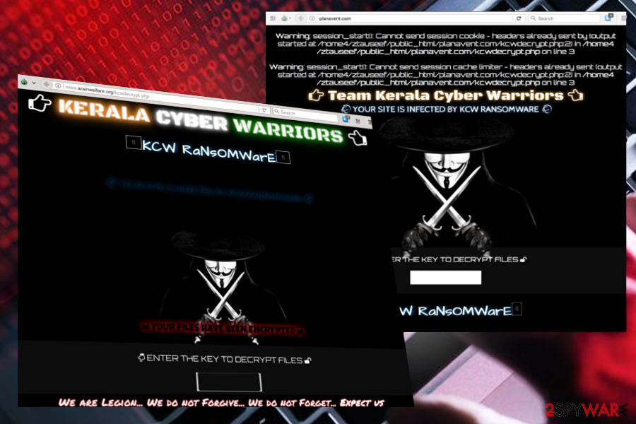 Remove KCW ransomware (Removal Guide) - Decryption Steps ...