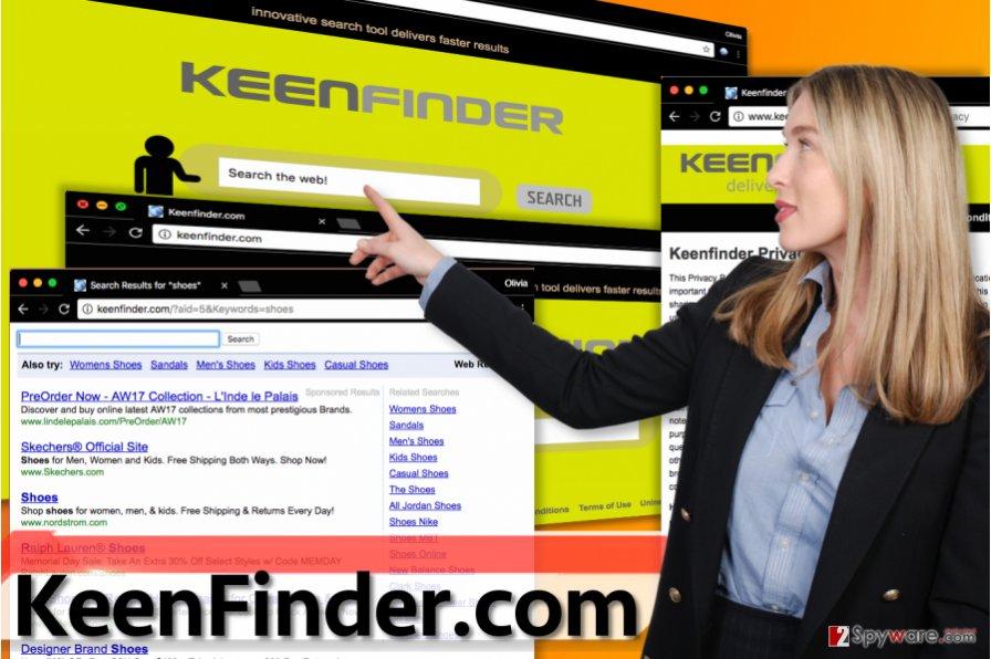 KeenFinder.com virus