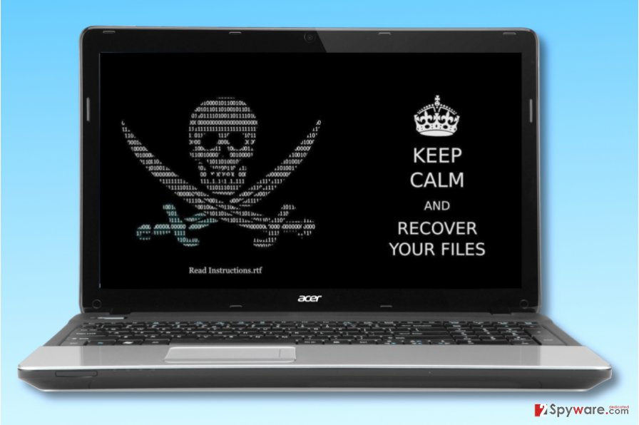Keep Calm ransomware