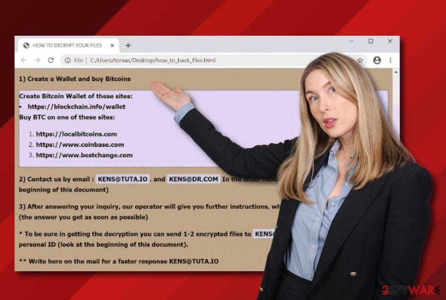 KENS@TUTA.IO ransomware virus