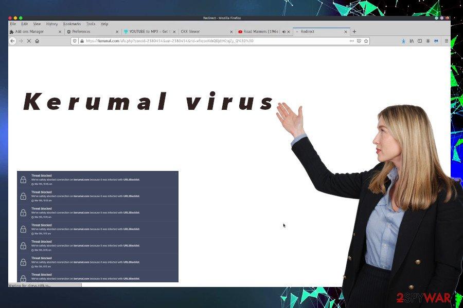 Kerumal ad-supported domain