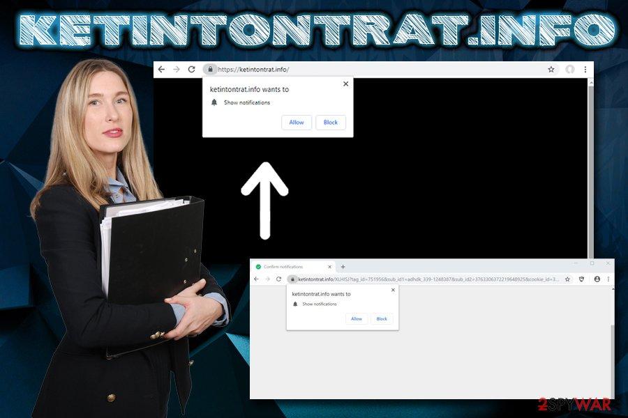 Ketintontrat.info adware