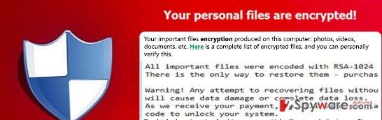 The example of KeyBTC virus