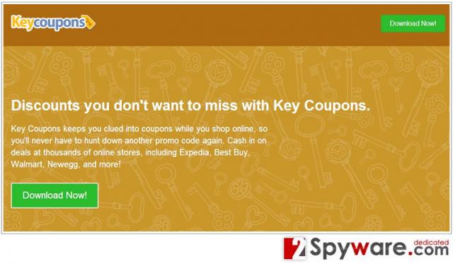 KeyCoupons snapshot