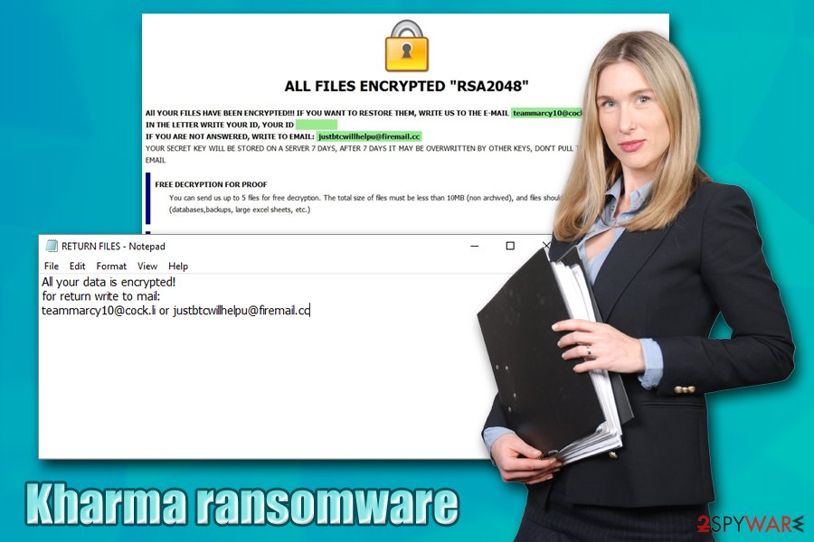 Kharma ransomware virus