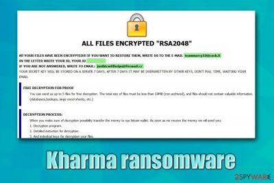 Kharma ransomware