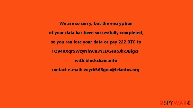 KillDisk now contains ransomware specifications
